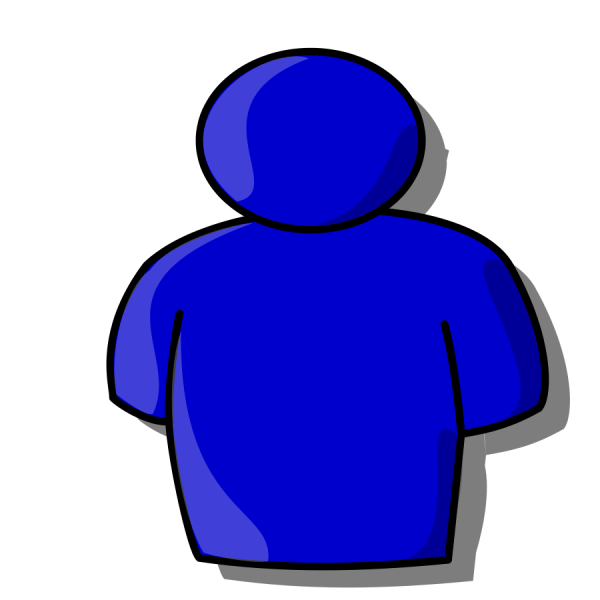 person clipart outline