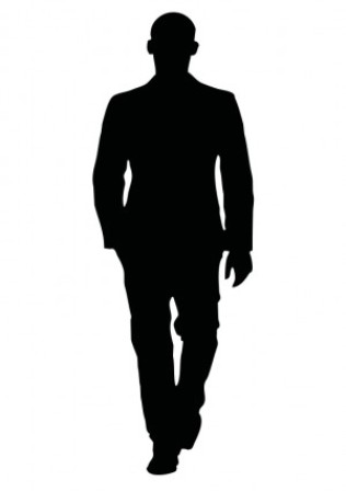 person clipart silhouette