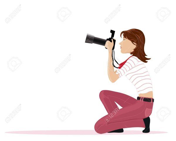 Free Clip Art Photographer Taking