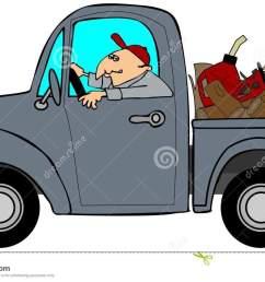 pickup truck clipart [ 1300 x 841 Pixel ]