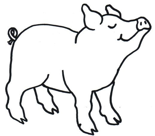 pig clipart panda - free
