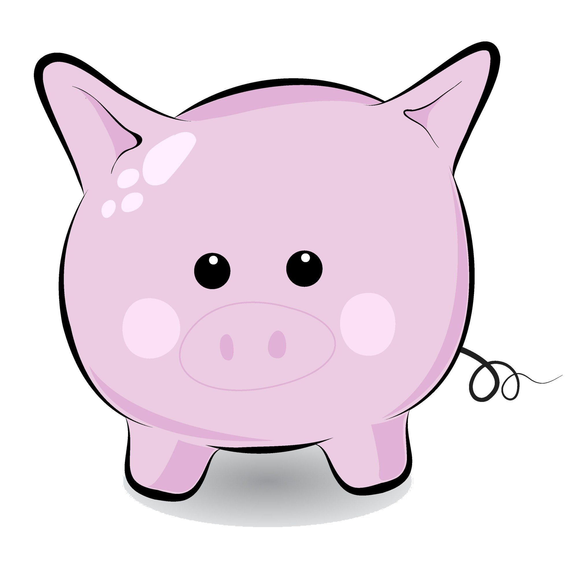 hight resolution of pigs clip art