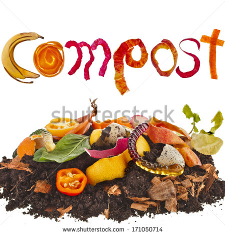 garbage pile clip art compost
