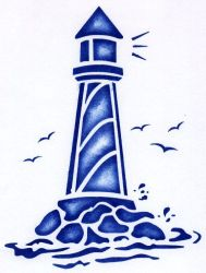 stencil pineapple lighthouse clipart clipartpanda stencils printable simple template lighthouses terms