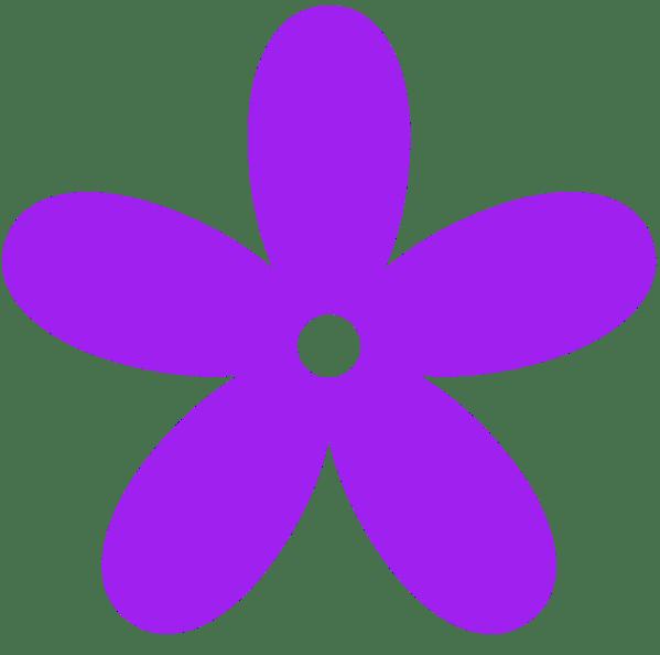 Purple Flowers Clip Art Free