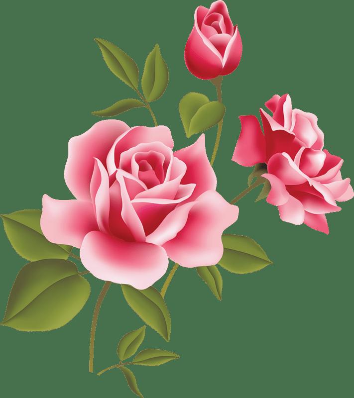 Pink Rose Clip Art  Clipart Panda  Free Clipart Images