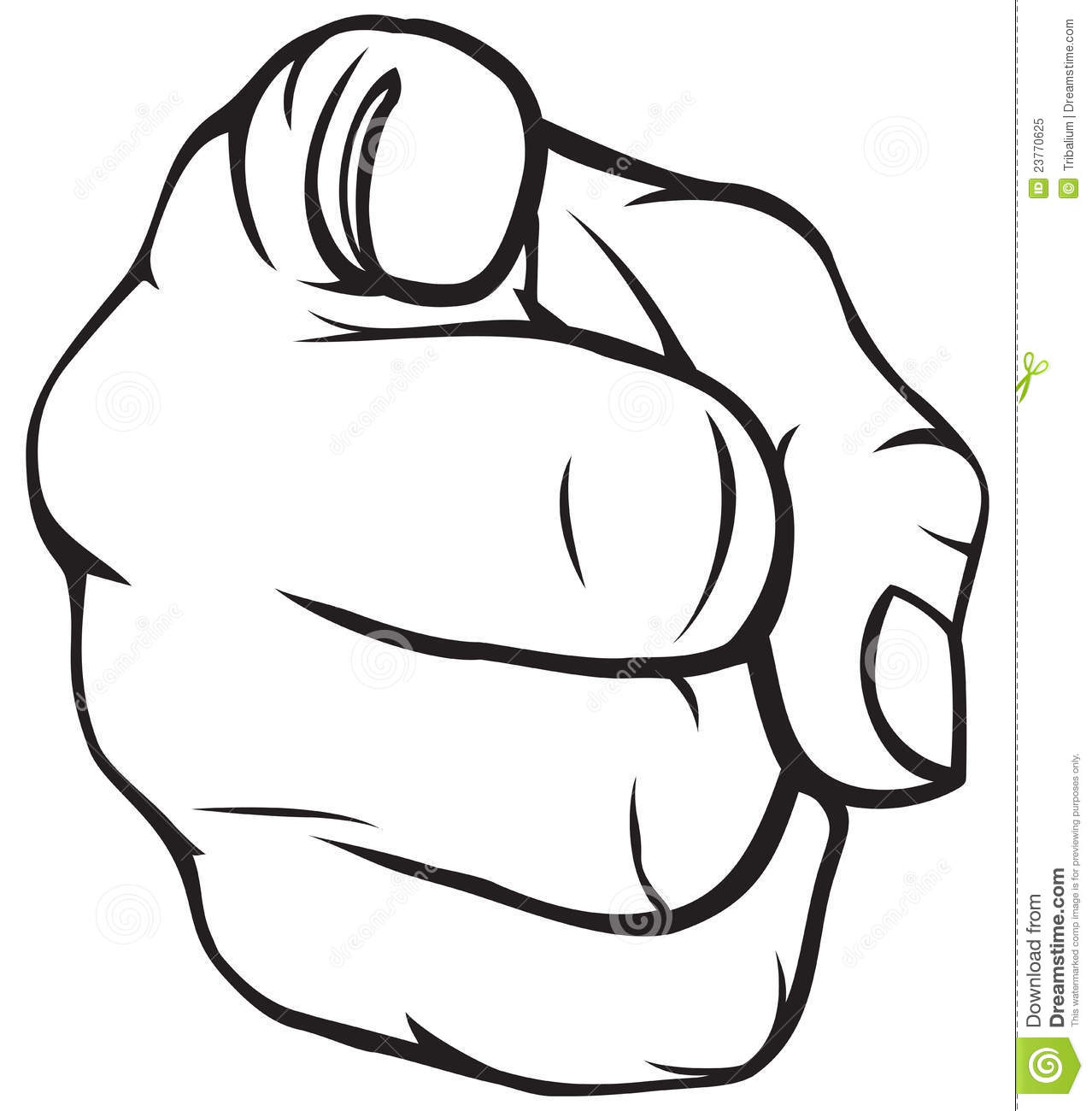 Pointing Hand Clip Art Clipart Panda