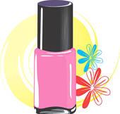 nail polish free clipart