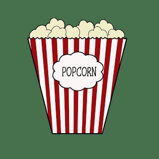 Popcorn Border Writing Paper Clipart Panda Free