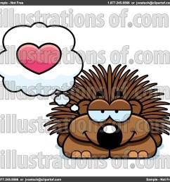 porcupine clip art [ 1024 x 1024 Pixel ]