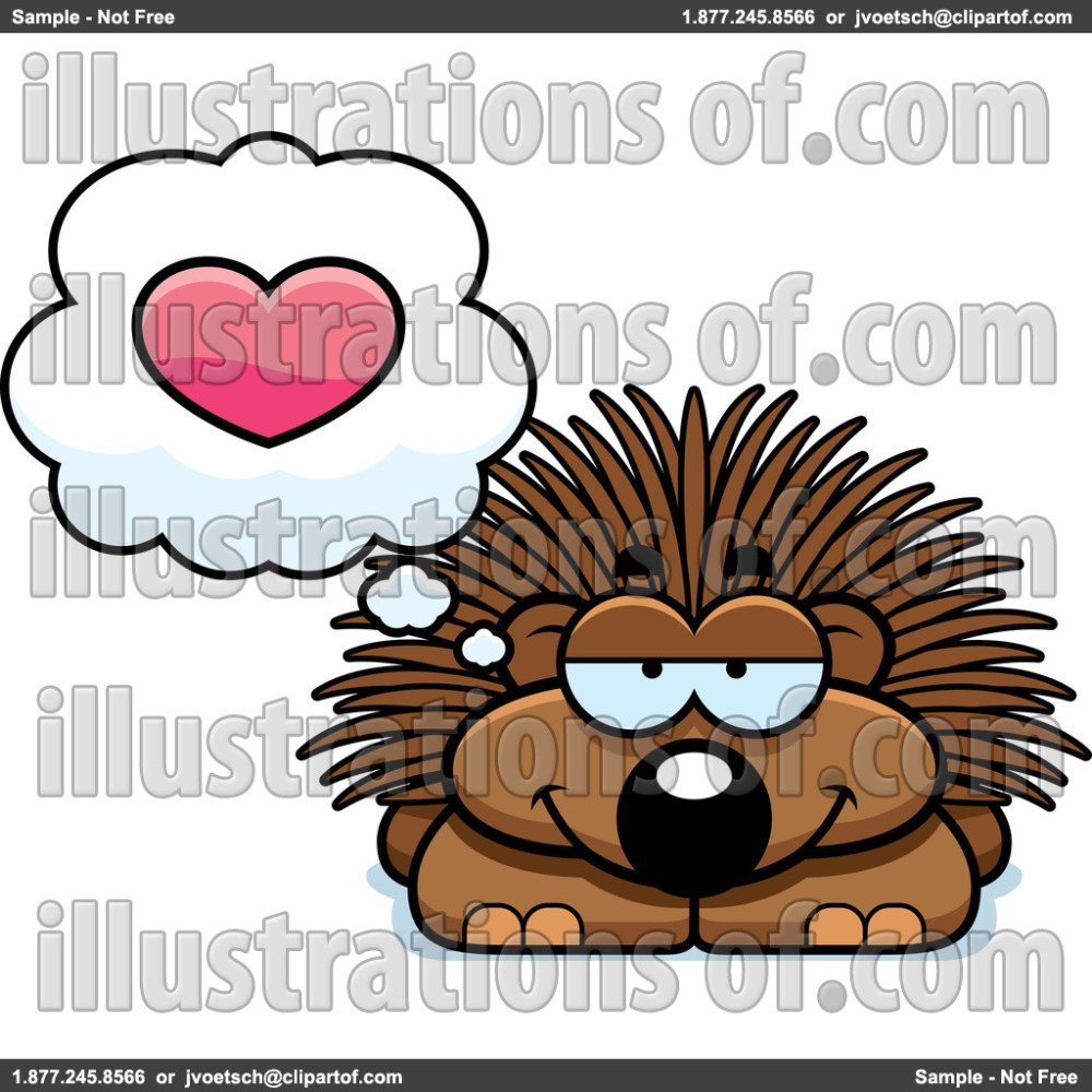 medium resolution of porcupine clip art