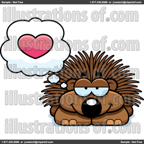 small resolution of porcupine clip art