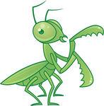 praying mantis clip art free