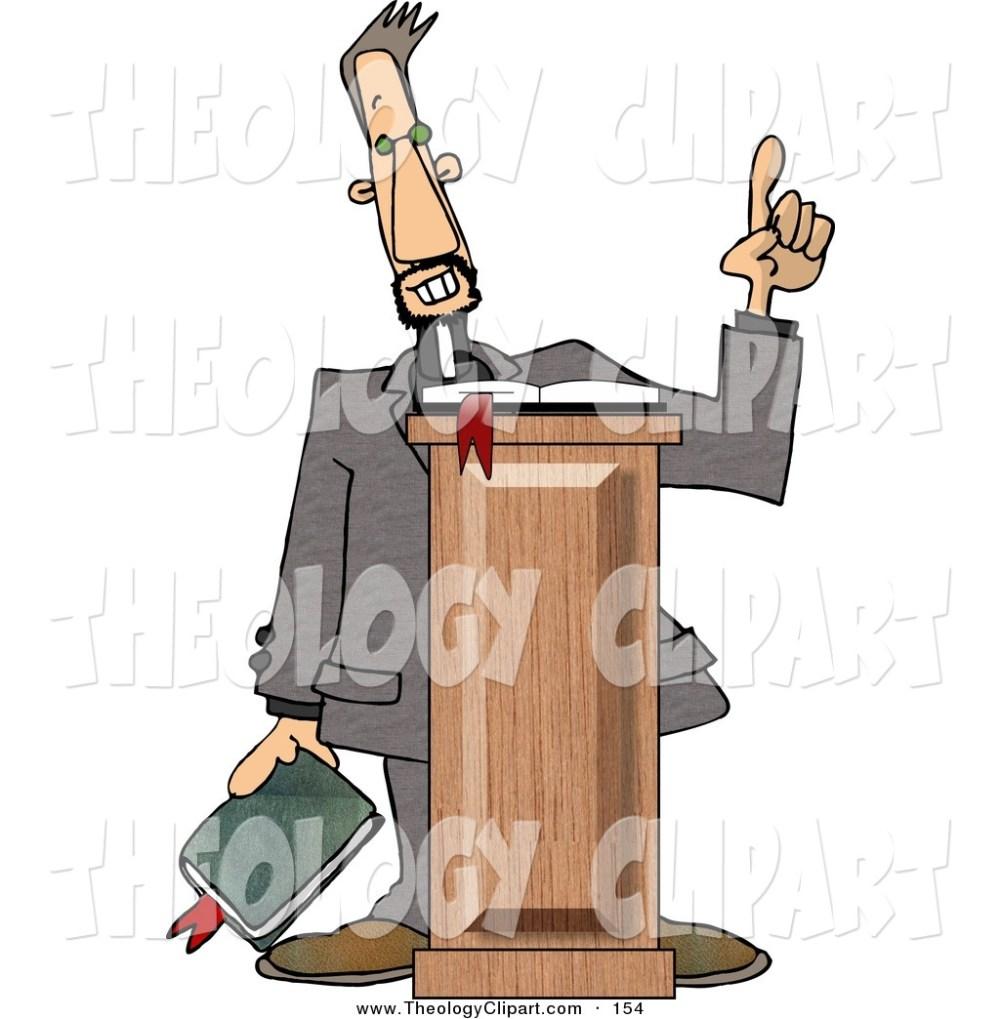 medium resolution of preacher clipart