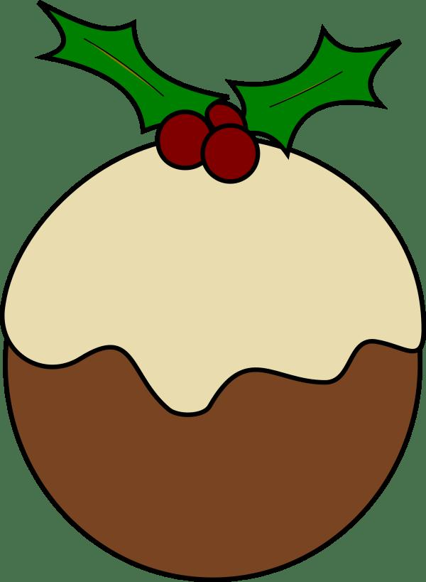 Christmas Pudding Clip Art