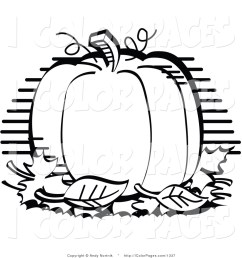 pumpkin clipart black and white [ 1024 x 1044 Pixel ]