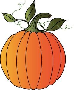 pumpkin vine art clipart panda
