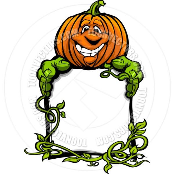 ' lantern pumpkin holding clipart