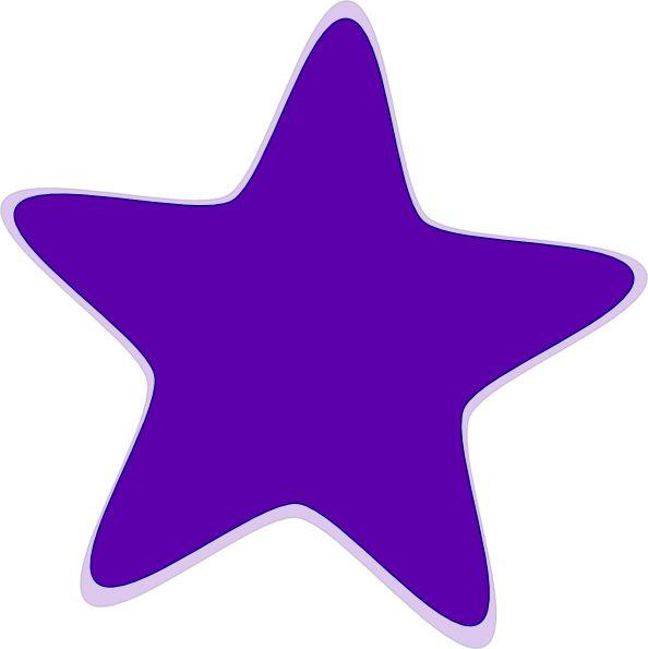 purple stars clipart