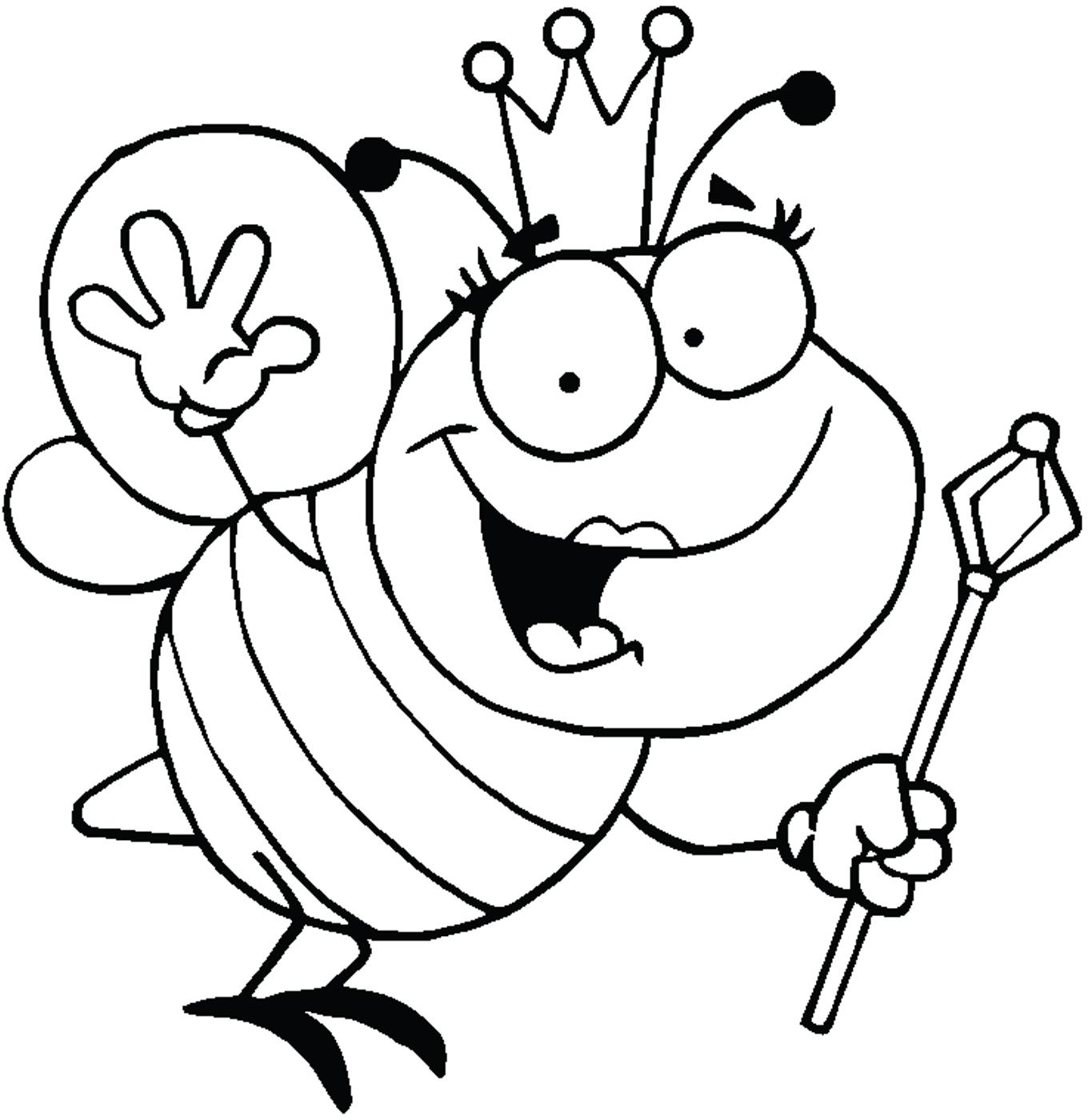 Queen Crown Clipart Black And White Clipart Panda
