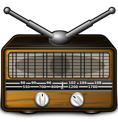 radio clipart [ 2400 x 2400 Pixel ]