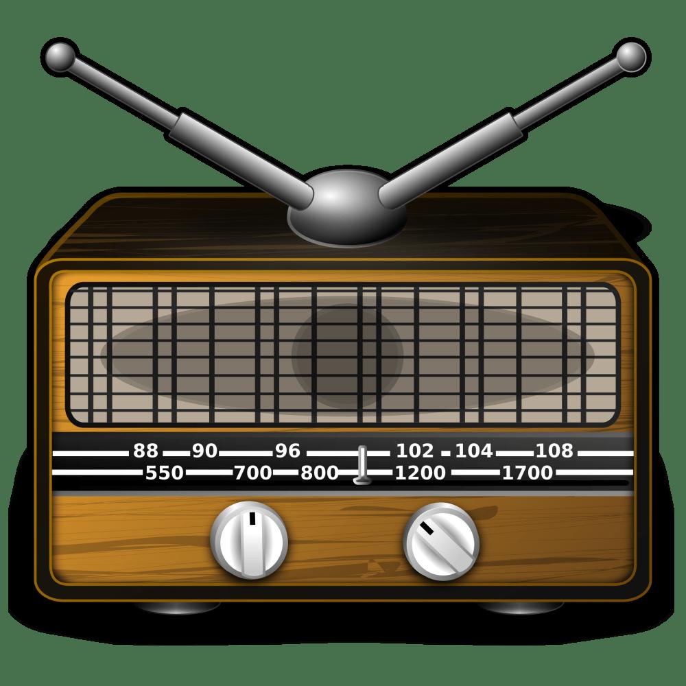 medium resolution of radio clipart