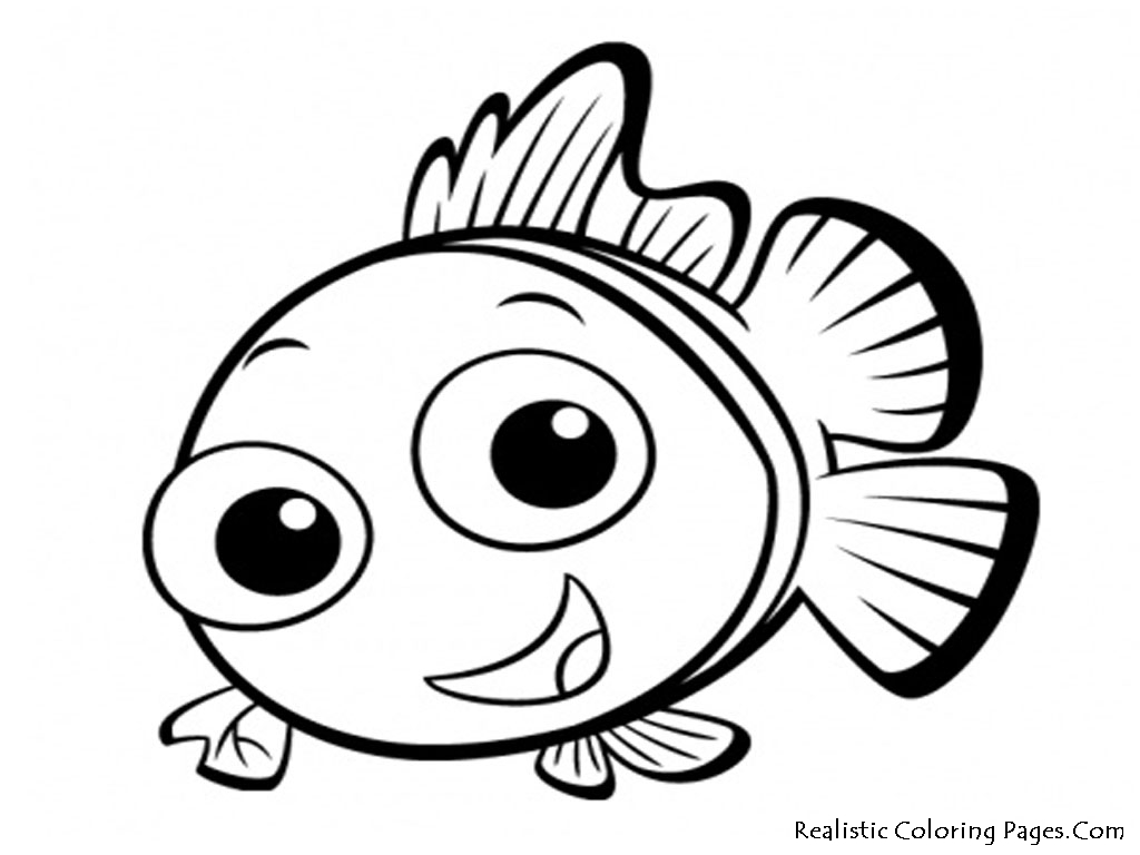 Rainbow Fish Coloring Page Clipart Panda