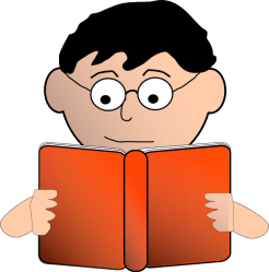 reading clipart clip read child background books literacy reader middle study children tree resources struggling categories arts boy