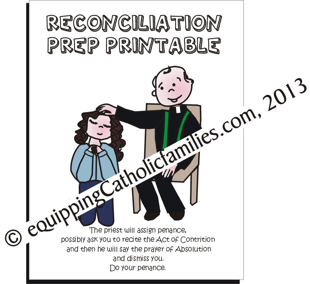 Reconciliation Clipart Catholic Clipart Panda