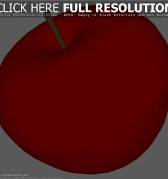 red apple clipart [ 1200 x 1200 Pixel ]