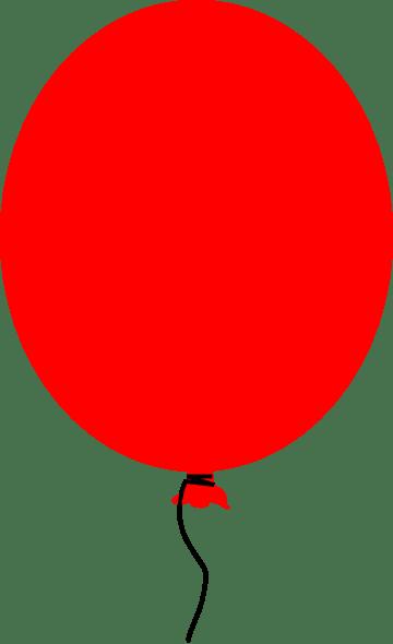 red balloon clip art cliparts