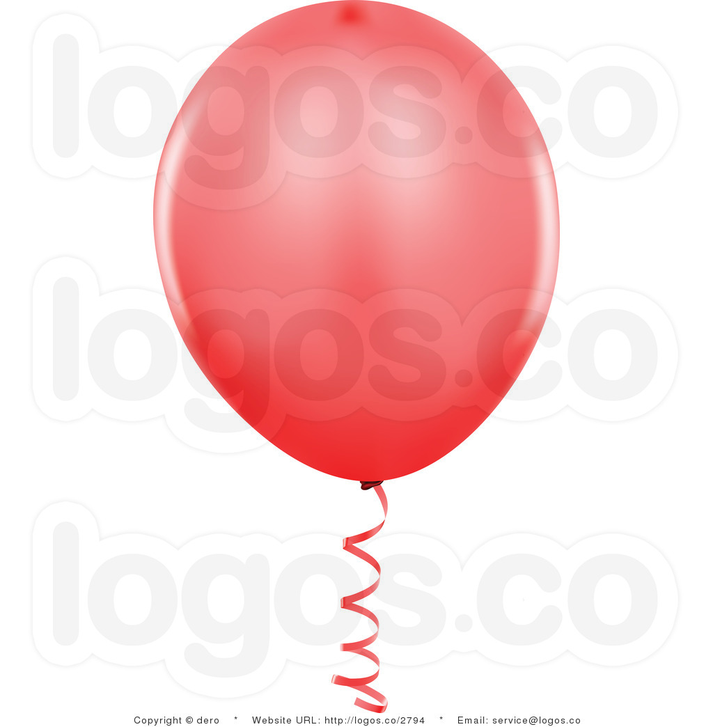 hight resolution of red balloon clipart