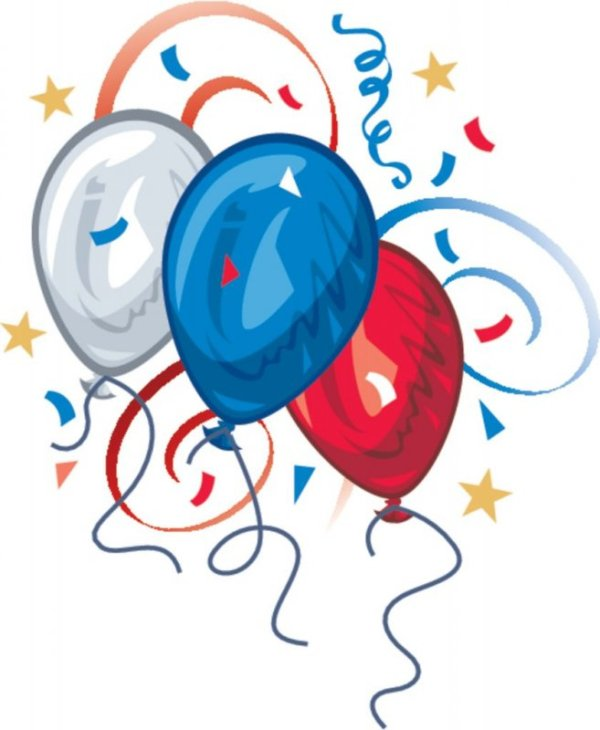 4th of july star clipart