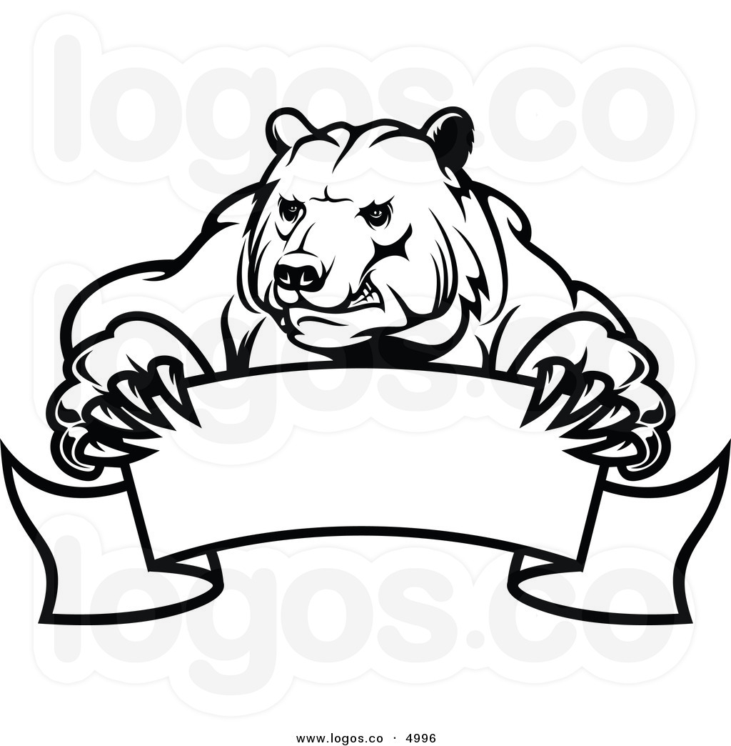 Bear Clipart Black And White Clipart Panda