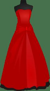 Vintage Wedding Dress Clipart | Clipart Panda - Free ...