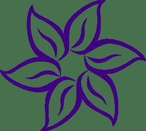 rose outline drawing flower clipart simple easy drawings draw flowers cartoon clip sketches line dark purple lotus pink advertisement hawaiian