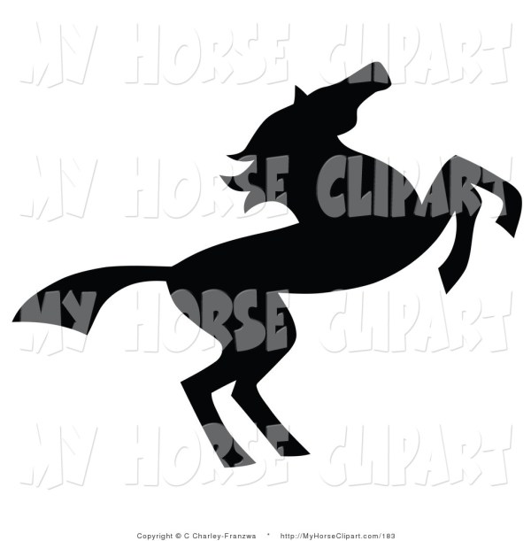 Running Horse Clipart Panda - Free