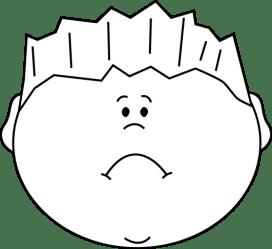 sad clipart face clipartpanda boy powerpoint terms