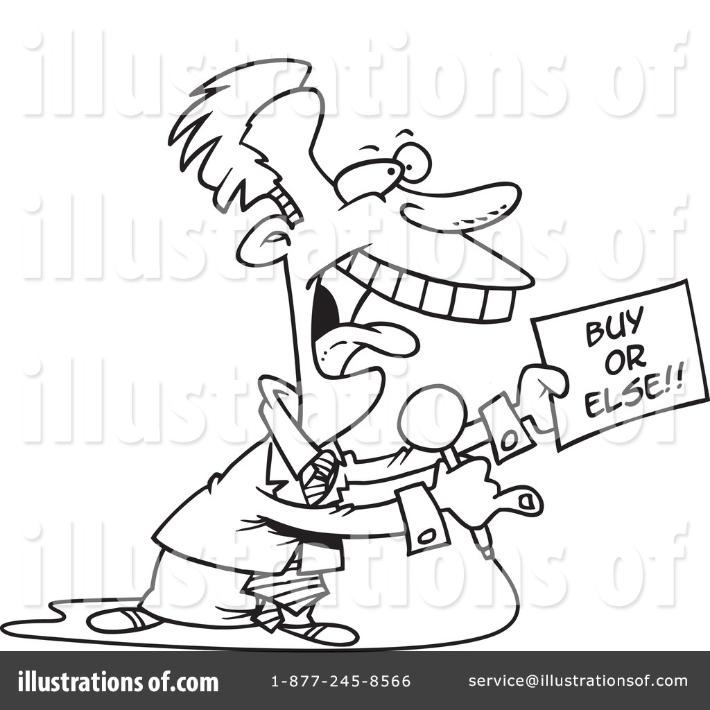 Salesman Clipart