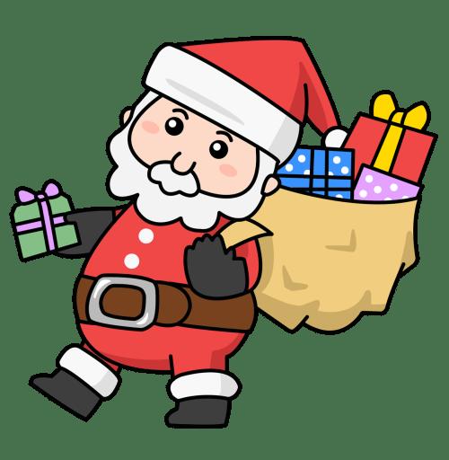 small resolution of santa claus clip art