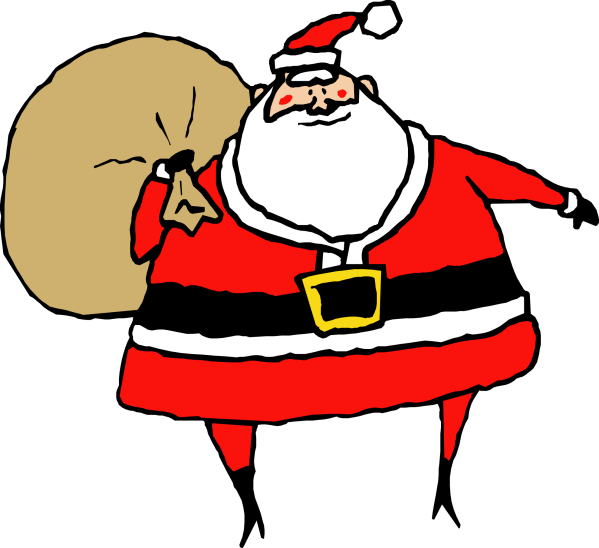 Christmas Santa Clip Art Free