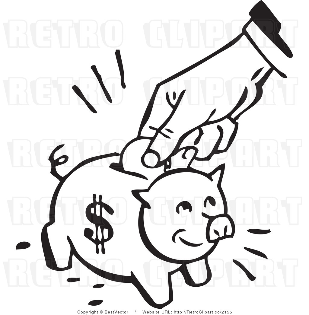 Save for Retirement Clip Art