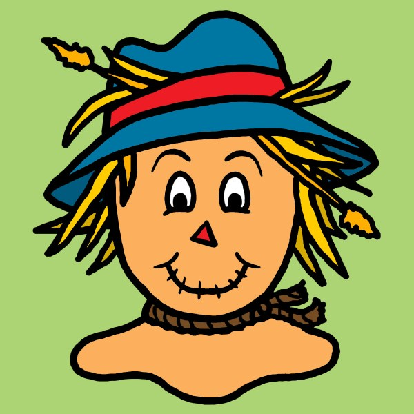 scarecrow clip art printable