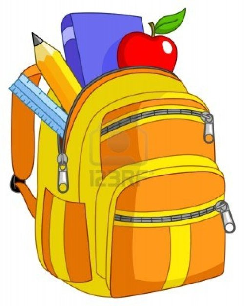 small resolution of school backpack clipart