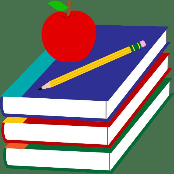 Schoolbooks Clip Art Free