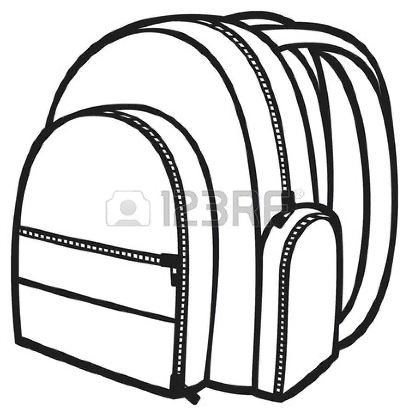 Bag Pack Backpack School Bag Clipart Panda