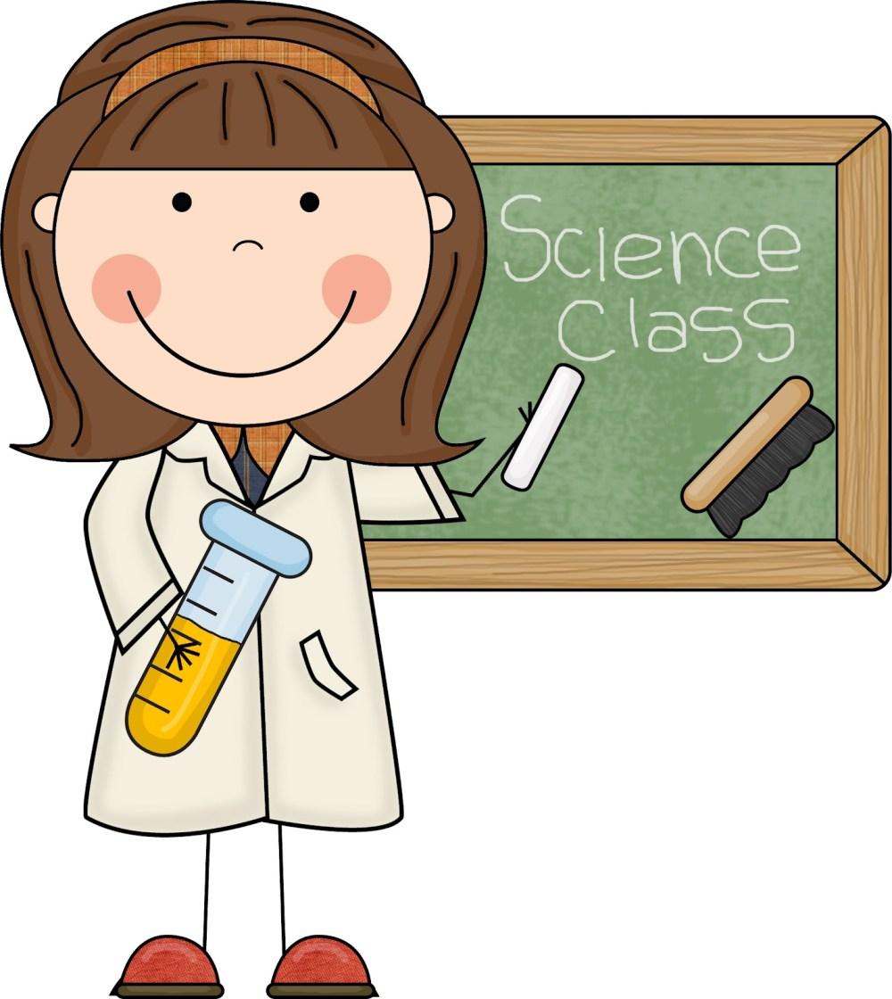 medium resolution of science teacher clipart