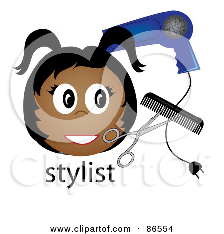scissors and comb tattoo clipart