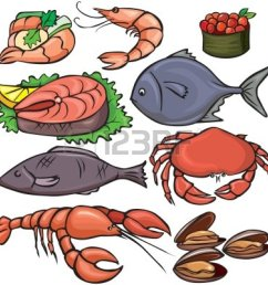 seafood clipart [ 1200 x 1200 Pixel ]