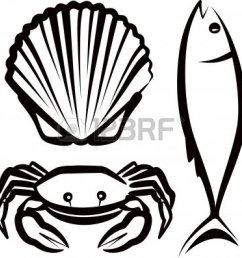seafood clipart [ 1200 x 1191 Pixel ]